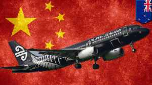 Air NZ plane to Shanghai turned away over Taiwan reference [Video]