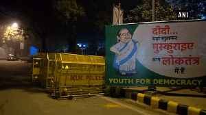 Posters of Mamata Banerjee asking her to 'smile' put up across Delhi [Video]