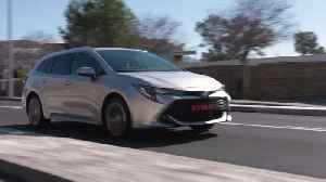 2019 Toyota Corolla TS 1.8L in Platinum Driving in Barcelona [Video]