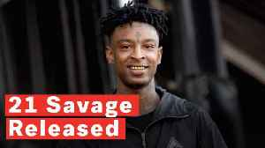 Rapper 21 Savage Wins Release From ICE Detention [Video]