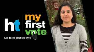 News video: My First Vote: 'Must reduce traffic congestion in Delhi,' says Latika