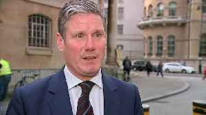 Keir Starmer: PM 'running down the clock' on Brexit [Video]