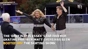 Gemma Collins Has Been Booted Off The Ice [Video]