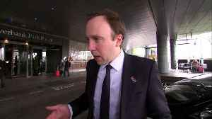 Hancock: NHS 'planning' for no-deal Brexit possibility [Video]