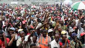 Nigeria Presidential Rally At Least 4 Dead In Stampede [Video]