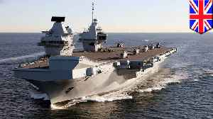 Britain's new aircraft carrier to go to the Pacific on first mission [Video]
