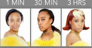 Makeup Artist Recreates Rihanna's Look in 1 Minute, 30 Minutes, and 3 Hours [Video]