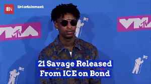 21 Savage Is Now Smelling The Fresh And Free Air [Video]