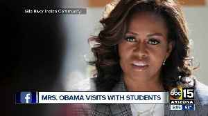 Michelle Obama in Phoenix [Video]