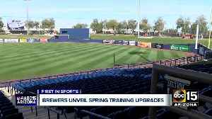 Brewers unveil Spring Training upgrades [Video]