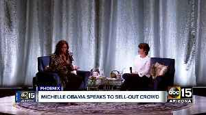 Michelle Obama visits Arizona on book tour [Video]