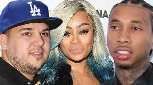 Blac Chyna DELETES Explosive IG Live BLASTING Rob Kardashian & Tyga Over Child Support! [Video]