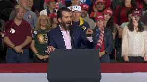 Donald Trump Jr. Calls Out 'Loser Teachers' At Rally [Video]