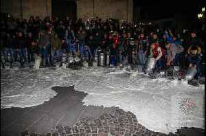 Protesting Italian Farmers Pour Hundreds of Gallons of Milk Onto Streets [Video]