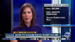 Denver is 11th in country for high student loan debt [Video]