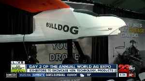Day two of the Annual World Ag Expo: Ultravance [Video]