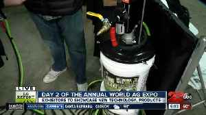 Day two of the Annual World Ag Expo: One of the top 10 products [Video]