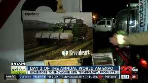 Day two of the Annual World Ag Expo: Motivo [Video]