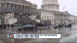 Congress members hold impromptu service for John Dingell [Video]