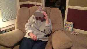 Virtual Reality Too Real for Mom [Video]