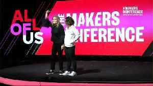 Katelyn Ohashi at MAKERS Conference 2019 [Video]