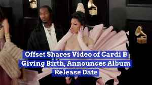 Cardi B Delivery Video Is Released By Hubby Offset [Video]
