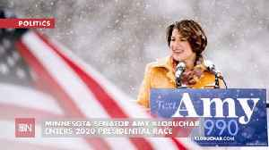 Amy Klobuchar Into 2020 Race [Video]