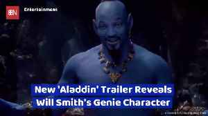 Will Smith's Genie Look Is Revealed [Video]