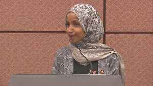 News video: President Calls For Rep. Omar To Resign