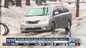 Storm knocks out power in Howard County [Video]