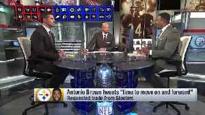 NFL Network's Willie McGinest: Pittsburgh Steelers' handling of wide receiver Antonio Brown sends 'very strong message' to locke [Video]