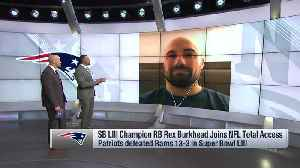 New England Patriots running back Rex Burkhead reflects on whirlwind of first Super Bowl win [Video]