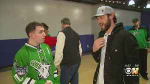 Stars' Tyler Seguin Is A Hit With Special Olympics [Video]