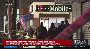 NYPD Officer Shot And Killed During Robbery [Video]