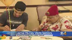 Nuggets' Jamal Murray Celebrates Valentine's Day With Seniors [Video]