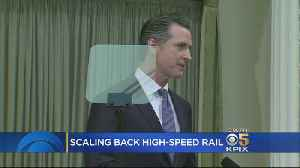 Gov. Newsom Puts SF-LA Portion Of High-Speed Rail Project On Hold [Video]