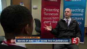 Scammers can leave you heartbroken & broke this Valentine's Day [Video]