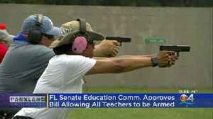 Florida Moves A Step Closer To Allowing Teachers To Carry Guns In School [Video]