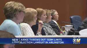 Judge Throws Out Lawsuit Challenging Arlington Term Limits [Video]