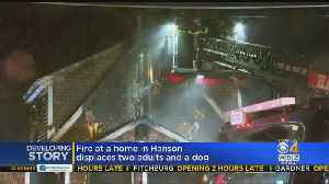 Fire At Home In Hanson [Video]