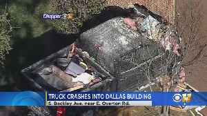 Vacant Dallas Apartment Unit Struck By Pickup [Video]
