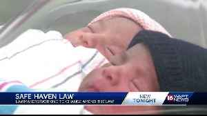 Law protecting newborns abandoned by mothers may be changing [Video]