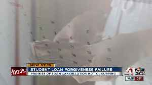 Student loans not forgiven for thousands of public workers [Video]