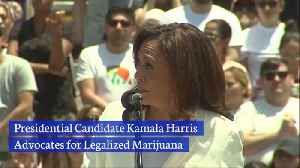 Kamala Harris Is For Legal Marijuana [Video]
