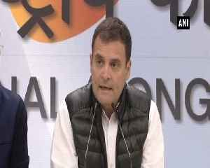 PM Modi acting as middleman of Anil Ambani Rahul Gandhi on Rafale row [Video]
