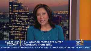 NYC Council Members Push For Affordable Rent [Video]