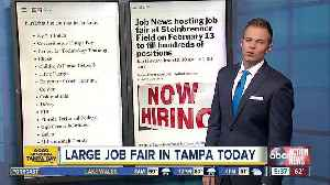 Job News hosting job fair at Steinbrenner Field on February 13 to fill hundreds of positions [Video]