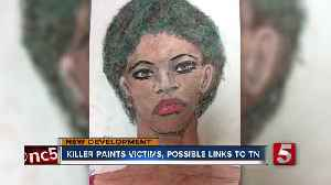 News video: FBI releases confessed serial killer's sketches in hopes of identifying victims