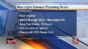 Red light scam targeting drivers in Clarksville: What you need to know [Video]