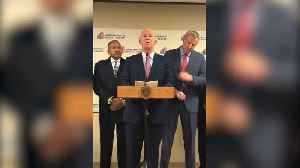 News video: NYPD Commissioner Gives Statement On Police Detective Killed By Friendly Fire In Queens